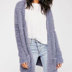 Free People Faur Fur Cardigan